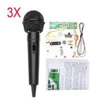 <b>3Pcs DIY</b> FM Wireless Microphone <b>Electronic Kit</b> FM <b>Electronic</b> ...