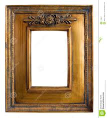 an old antique picture frame