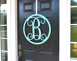 front door monogramMonogram Door Wreaths  Make it Personal at House Sensations Art