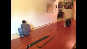 2013 Time Lapse Vinyl Floor Installation   YouTube