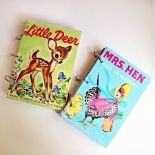 check out these fun diy vintage upcycled notebooks free tutorial with pictures on how