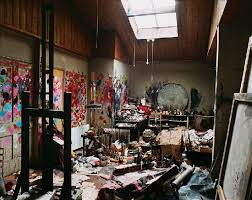 Francis Bacon studio lighting
