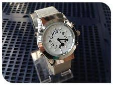 mens talking watch for blind english talking and tactile function 2 in 1 watch for blind people or low vision