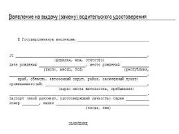 Заявление в гаи на сдачу экзамена образец Поиск по базам Интересное на сайте Отчёт по практике