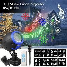 Noel LED Hoparlör Müzik Çalar Lazer Projektör Açık Su Geçirmez IP65 Sahne  Işık Için Uzaktan Kumanda Ile Çim çim Bahçe Kategoride. Sahne Aydınlatması  Efekti
