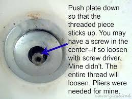 remove a bathtub drain how to remove a tub drain 3 remove stuck bathtub drain stopper