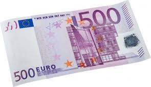 El billete de quinientos euros (500 €) es, actualmente, el de mayor valor de los billetes de euro y ha sido utilizado desde la introducción del euro en 2002. Billete De 500 Euros Imagenes Fotos De Stock Libres De Derechos Depositphotos