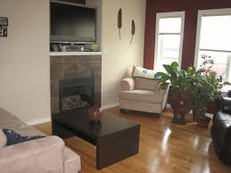 Living Room Fireplace Designs Modern Minimalits Living Room With Double Side Fireplace Pillars