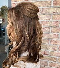 Easy Formal Hairstyles For Medium Hair Marvelous 25 Easy Half Up