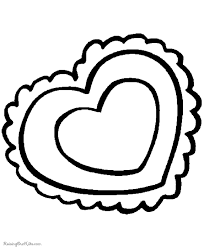 Small Picture Preschool Valentine Day coloring pages 007
