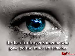 My Quotes Collection Its Hard To Forget Someonesad Crying Quotes