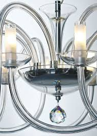 modern clear crystal glass chandeliers modern crystal chandelier with hand drawn crystal glass arms