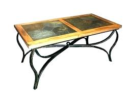 round wood and metal end table medium size of rustic wood and metal bedroom furniture coffee