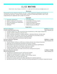 Production Operator Resume Sampl On Lease Operator Resume Samples