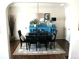 size of rug for dining room rugs for under dining room table best size rug for