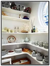diy corner pantry shelves