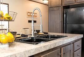 Kitchen Sinks Prep Mobile Home Rectangular Brown Copper Islands Mobile Home Kitchen Sink Plumbing