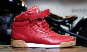 reebok high tops. reebok classic high tops red i