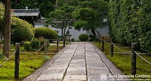 Paths in Japanese gardens have more than one function  Not only do they  lead the visitor through the garden and to the best vistas, they also  influence how ...