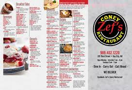 It is a medium roast with hints of caramel and fruit, with a good kick. Online Menu Of Zefs Coney Island Restaurant Bay City Michigan 48708 Zmenu