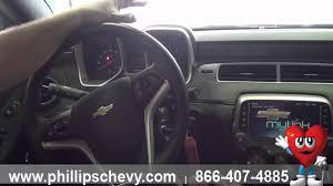 2014 chevy camaro interior. Simple Camaro 2014 Chevy Camaro  Interior Features Phillips Chevrolet Chicago  Dealership New Car Sales On