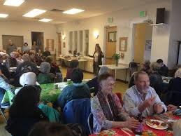 tess lorraine leads cafe at the sebastopol senior center