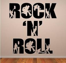 rock n roll wall art
