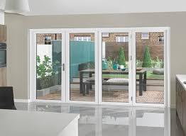 2 track upvc sliding door 4 glass panels