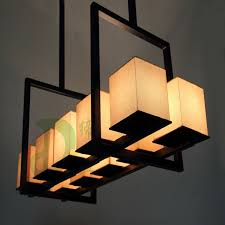 chinese style lighting. New Chinese Style Rectangle Restaurant Pendant Light Square Box Lamp Bar Counter Lighting Free Shipping FOr 0