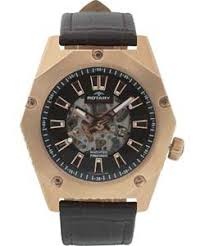 rotary men s fusion brown strap skeleton watch rotary men s fusion brown strap skeleton watch
