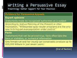 writing workshop writing a persuasive essay assignment prewriting writing a persuasive essay prewriting gather support for your position evidence for persuasive appeals expert