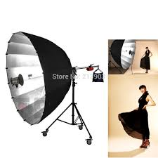 Umbrella Lights Us 771 0 Alumotech 71 Inch Big Umbrella Lights Tripod With Wheels Reflector Softbox Stand For Photography Camera Studio Video Acceesories In Photo