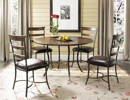 Metal Kitchen Table And Chairs Hillsdale Cameron Wood And Metal Dining Table 4671dtb