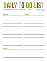 Daily To Do List Template Word Printable Templates Pretty