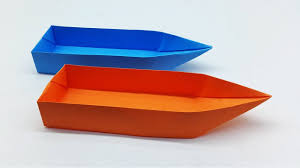 Paper Boat Making Tutorial That Floats   Origami Boat Easy Instruction For  Kids - YouTube