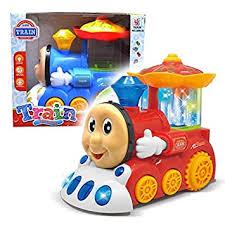 Buy VGRASSP <b>Water Fountain</b> Train Engine <b>Toy</b> for <b>Kids</b> - Moving ...