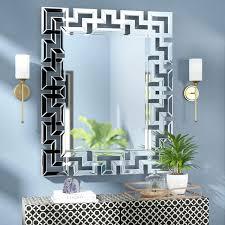 ornate wall mirror rectangle ornate geometric wall mirror decorative wall mirrors