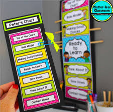 Clip Chart Behavior Management System Classroom Behavior Management Systems Clutter Free Classroom