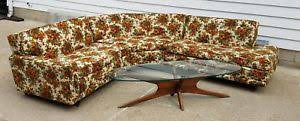 vintage mid century modern couch. VINTAGE-MCM-KROEHLER-1955-MID-CENTURY-MODERN-SECTIONAL- Vintage Mid Century Modern Couch