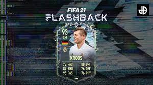 Toni Kroos FIFA 21 Flashback SBC del Real Madrid: come completare Come  completare FIFA 21 FGS Challenge SBC: requisiti, soluzioni economiche,  altro - Farantube