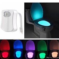 Bathroom Toilet Seat Lights
