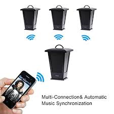 portable outdoor speakers. pohopa-b210-black-wireless-outdoor-speaker-portable-waterproof- portable outdoor speakers