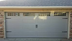 neat garage door windows kits