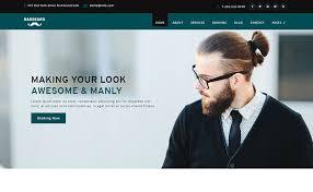 Barber Shop Website Barbeard Html5 Responsive Barber Shop Website Template Themevault
