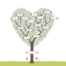 Drawing A Family Tree Template Easy Word Family Tree Template Of Family Tree Template Easy