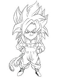 Vegeta Super Saiyan Coloring Pages Dragon Ball Z Coloring Pages