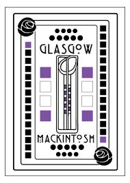 charles rennie mackintosh glasgow card brave scottish gifts