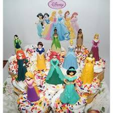 Hallmark Disney Princess Cake Topper And Candle Set
