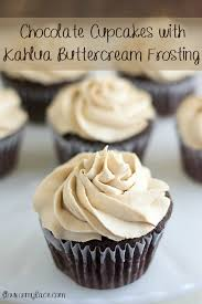 Chocolate Cupcakes With Kahlua Buttercream Frosting Sundaysupper