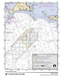 Vine Spacing Chart Vineyard Wind Bureau Of Ocean Energy Management
